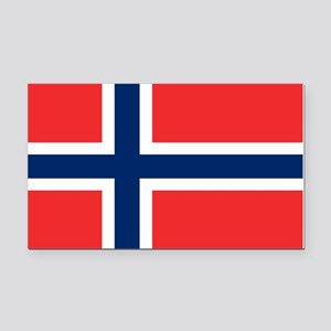 Flag of Norway Rectangle Car Magnet
