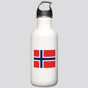 Flag of Norway Water Bottle