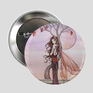 """Autumn Fairy Fantasy Art 2.25"""" Button"""