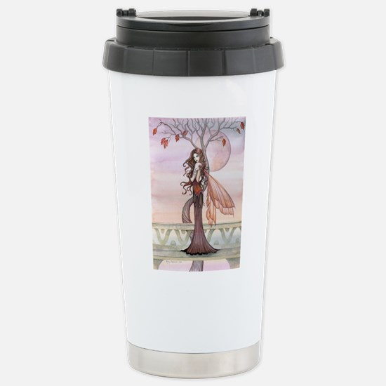 Autumn Fairy Fantasy Art Travel Mug