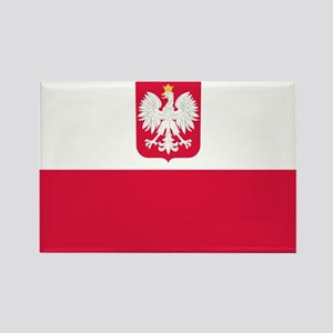 Polish Flag Coat of Arms Magnets