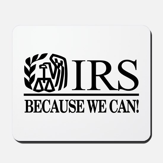IRS (Because We Can) Mousepad