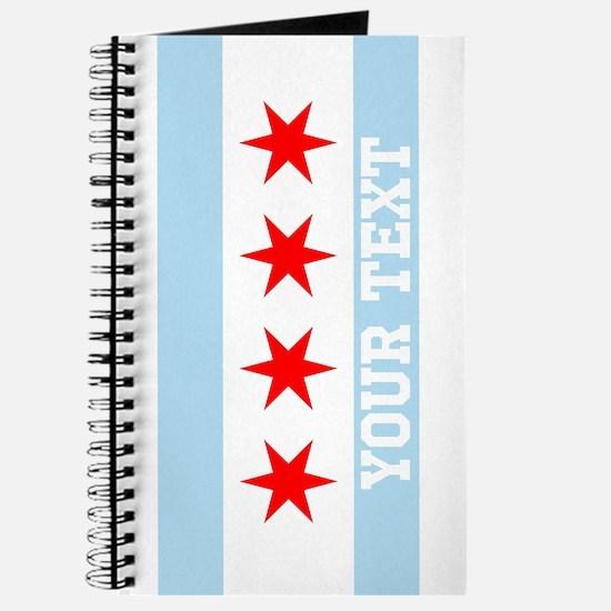 Monogram Chicago Flag Journal