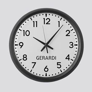 Gerardi Newsroom Large Wall Clock