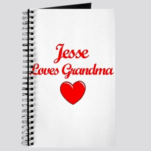 Jesse Loves Grandma Journal