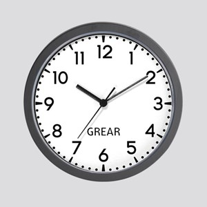 Grear Newsroom Wall Clock