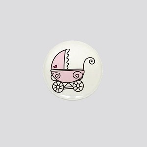 Stroller Mini Button