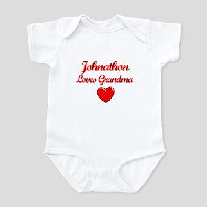 Johnathan Loves Grandma Infant Bodysuit