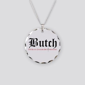 Butch Necklace Circle Charm