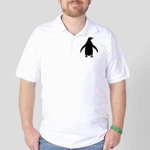 penguin_black Golf Shirt
