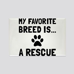 Favorite Breed Rescue Magnets