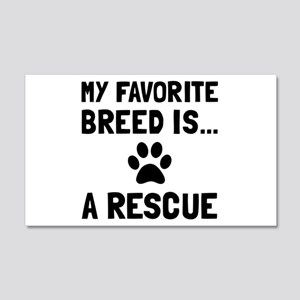 Favorite Breed Rescue Wall Decal