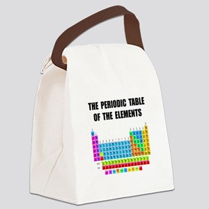 Periodic Table Elements Canvas Lunch Bag
