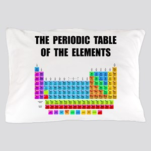 Periodic Table Elements Pillow Case