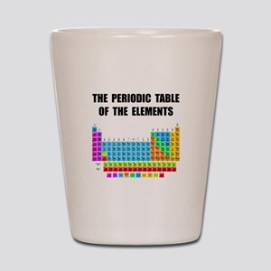 Periodic Table Elements Shot Glass