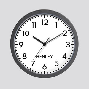 Henley Newsroom Wall Clock