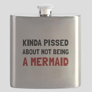 Pissed Not Mermaid Flask