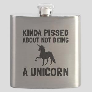 Pissed Not Unicorn Flask