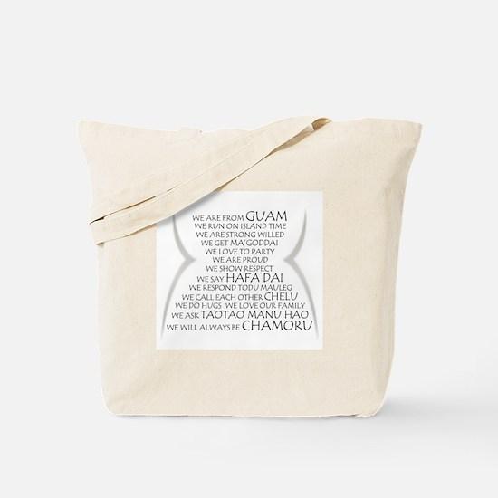 We are Chamoru Tote Bag