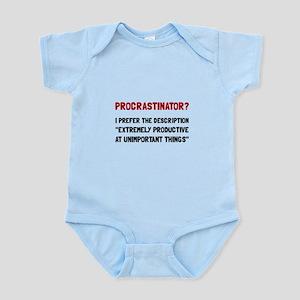 Procrastinator Body Suit