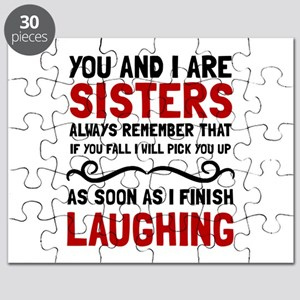 Sisters Laughing Puzzle