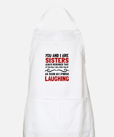Sisters Laughing Apron