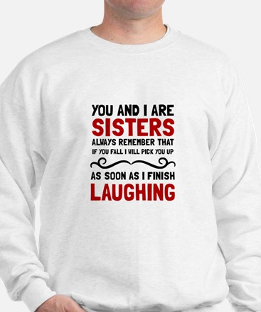 Sisters Laughing Jumper