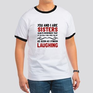 Sisters Laughing T-Shirt