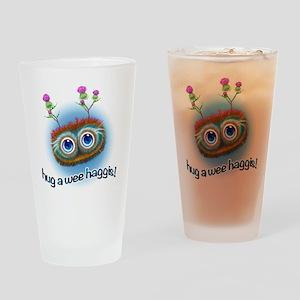 Hoots Toots Haggis 'Hugs' Drinking Glass