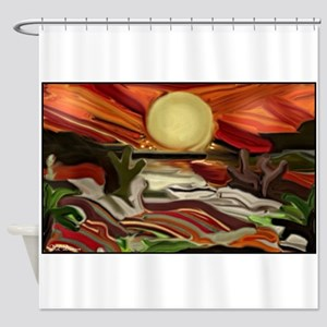 Southwestern Skies Shower Curtain