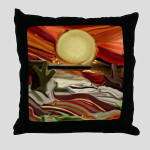 Southwestern Skies Throw Pillow