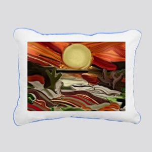 Southwestern Skies Rectangular Canvas Pillow