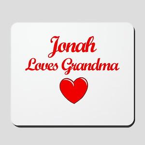 Jonah Loves Grandma Mousepad