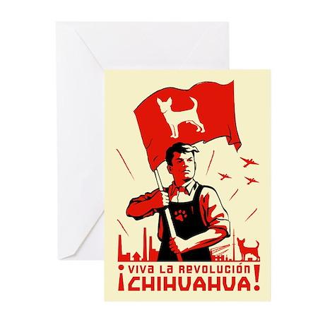 Chihuahua Patriotism Greeting Cards (6)