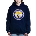 USS BRONSTEIN Women's Hooded Sweatshirt