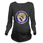 USS BRONSTEIN Long Sleeve Maternity T-Shirt