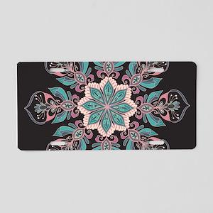 Decorative Star Aluminum License Plate