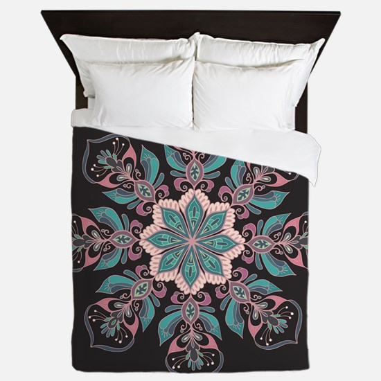 Decorative Star Queen Duvet
