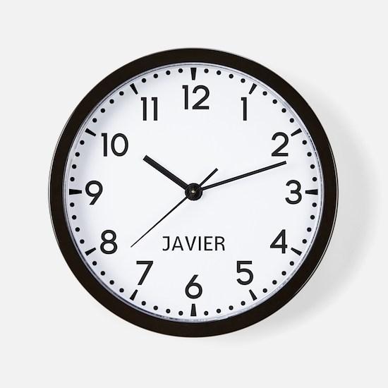 Javier Newsroom Wall Clock