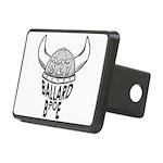 Ballard Elks Emblem Rectangular Hitch Cover