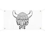 Ballard Elks Emblem Banner
