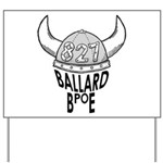 Ballard Elks Emblem Yard Sign