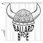 Ballard Elks Emblem Shower Curtain
