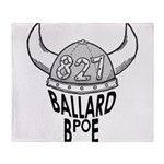 Ballard Elks Emblem Throw Blanket