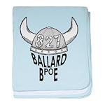 Ballard Elks Emblem baby blanket