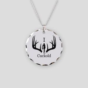 I Cuckold Necklace Circle Charm