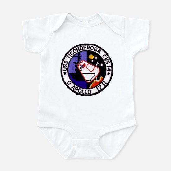 USS Ticonderoga & Apollo 17 Infant Bodysuit