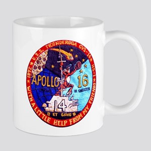 USS Ticonderoga & Apollo 16 Mug