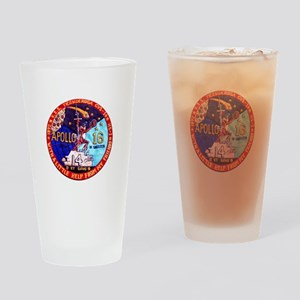 USS Ticonderoga & Apollo 16 Drinking Glass