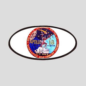 USS Ticonderoga & Apollo 16 Patches